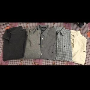 Lot Of 5 Men's Tops & Sweaters Size M